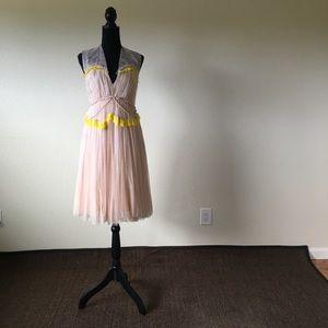Dresses & Skirts - DELPOLZO blush tulle dress
